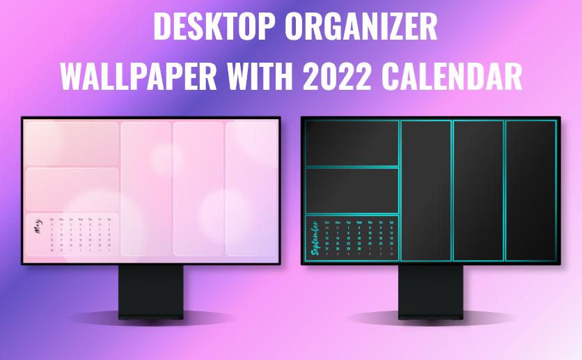 September 2022 Calendar Wallpaper.6 Computer Desktop Organizer Wallpapers With Calendar 2021 2022