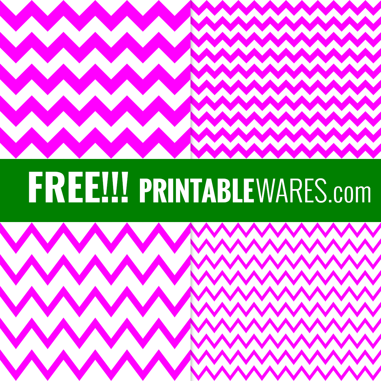 Free Printable Scrapbook Papers in Hot Pink