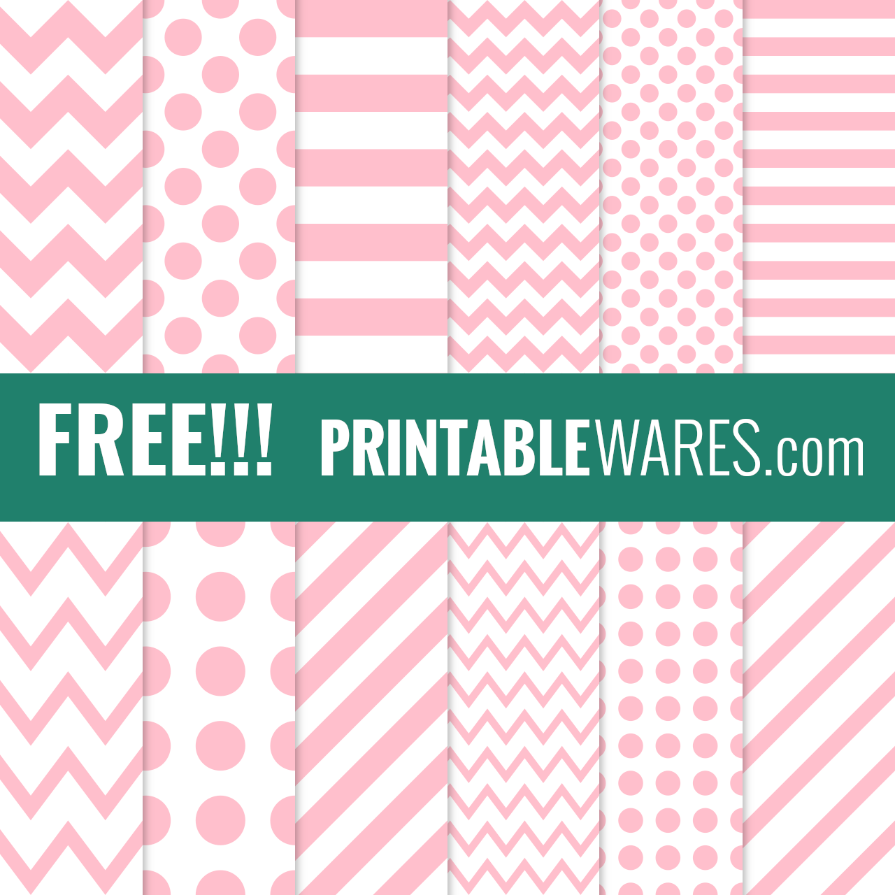 Printable Pink Scrapbook Papers Blush Hot Pink Backgrounds