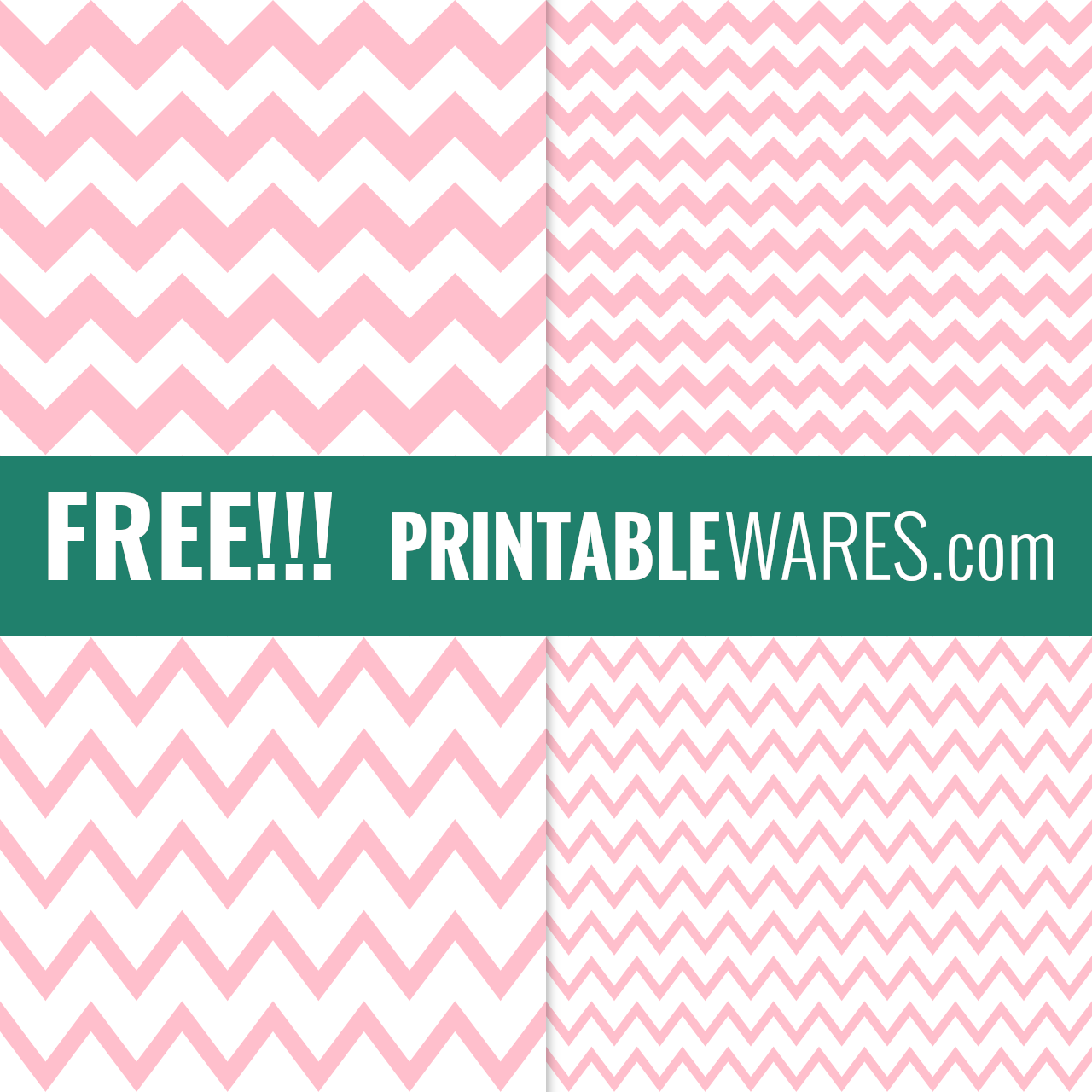 Printable Design Papers in Pastel Pink